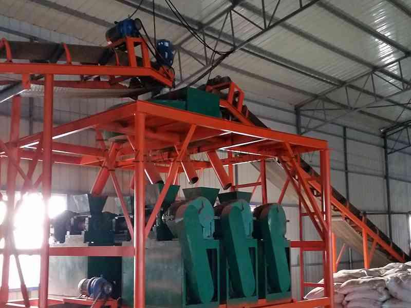 Compound fertilizer production line (4)