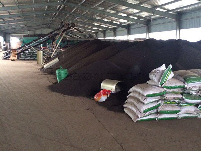 Chicken manure organic fertilizer production line (4)