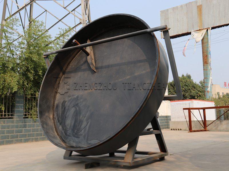 Pan granulator (2)