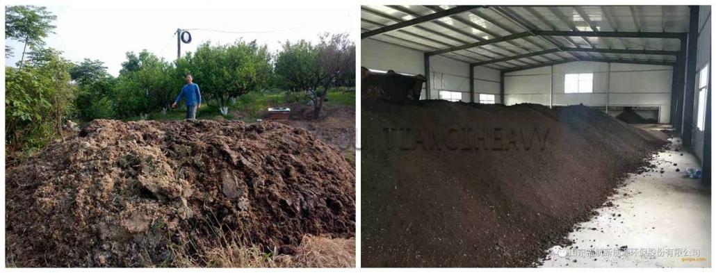 Manure organic fertilizer