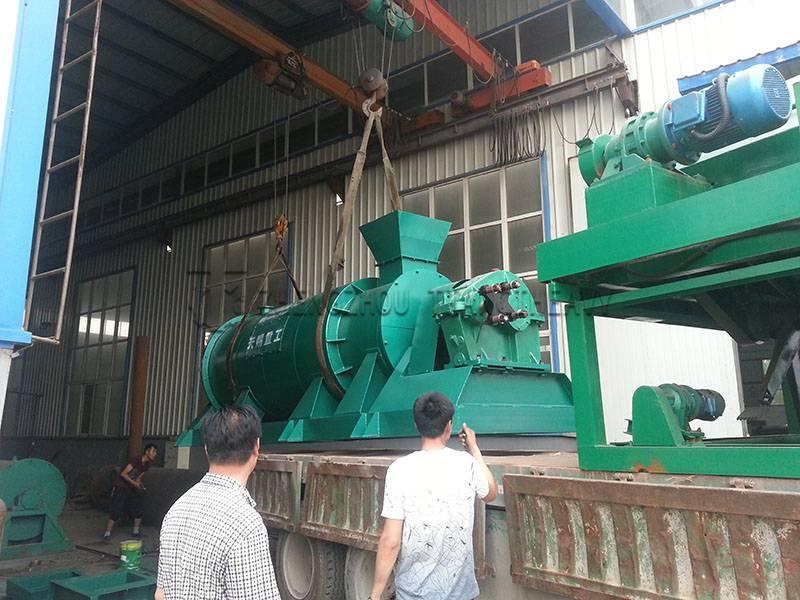 New organic fertilizer granulator (2)