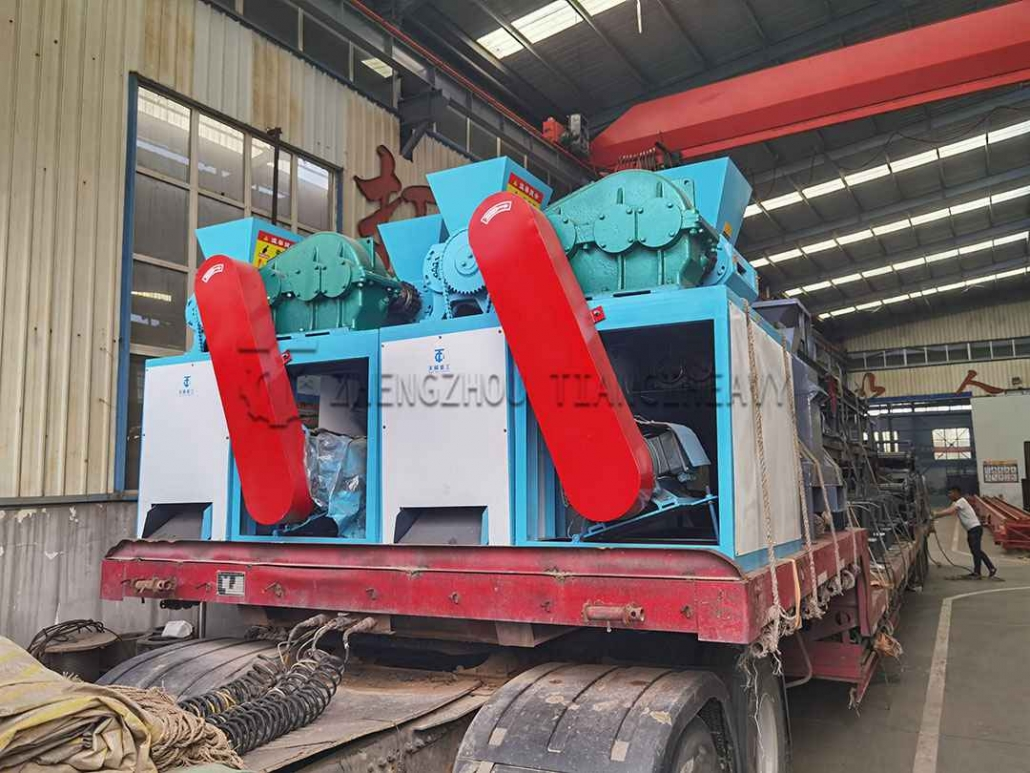 Roller Press Granulator Production Line sold to Indonesia (1)