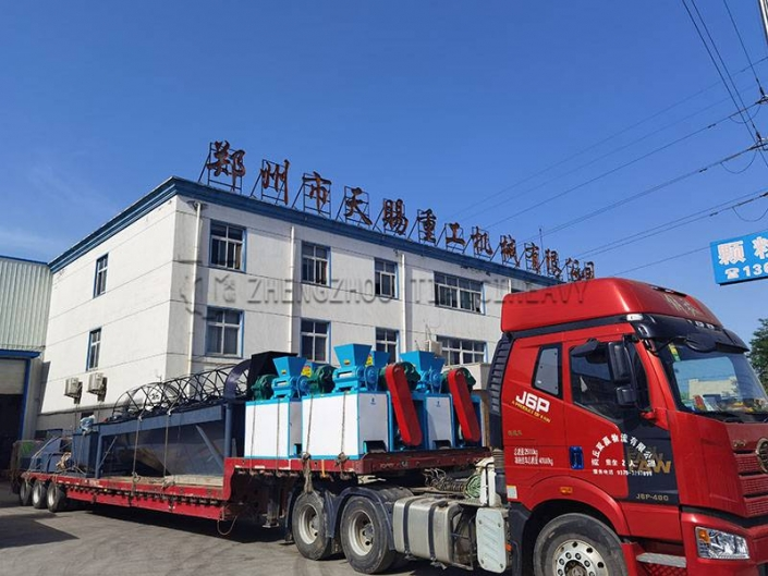 Roller Press Granulator Production Line sold to Indonesia (3)