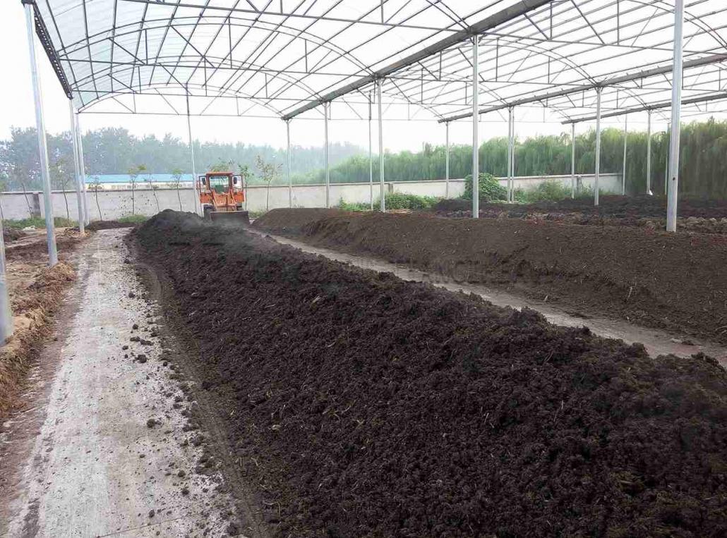 Sludge compost