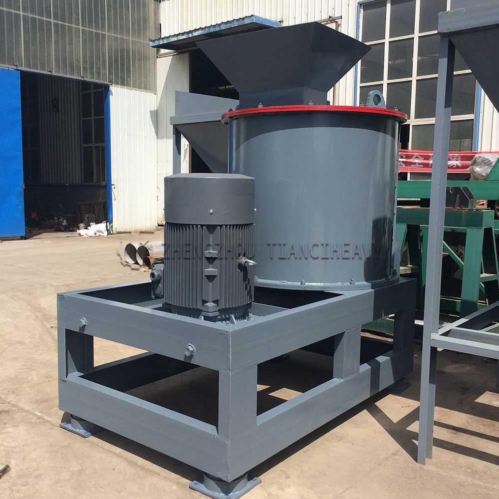 Vertical Semi wet fertilizer crusher