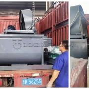 Fertilizer blending equipment and disk granulator sold to South Korea (4)