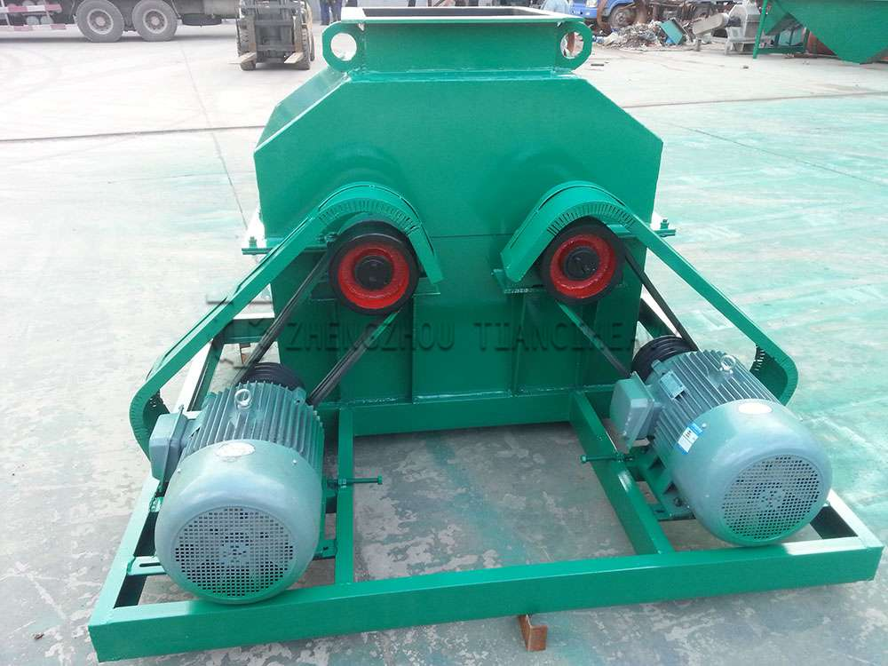Double shaft chain crusher (2)