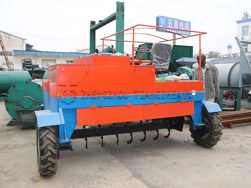 Four-wheel Fermentation turning machine (3)