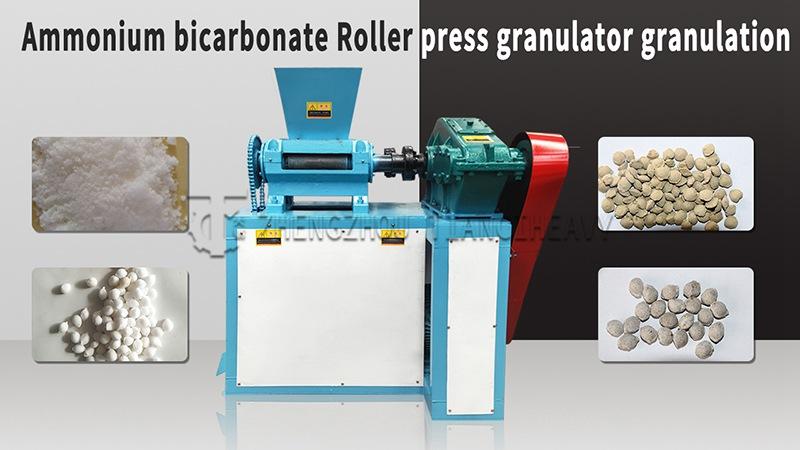 Roller Extrusion Granulator