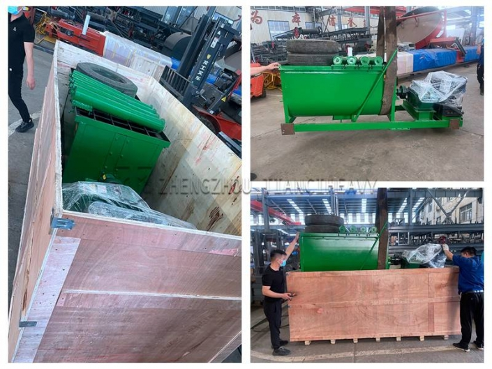 Transportable horizontal mixer shipped to Côte d'Ivoire, Africa (6)