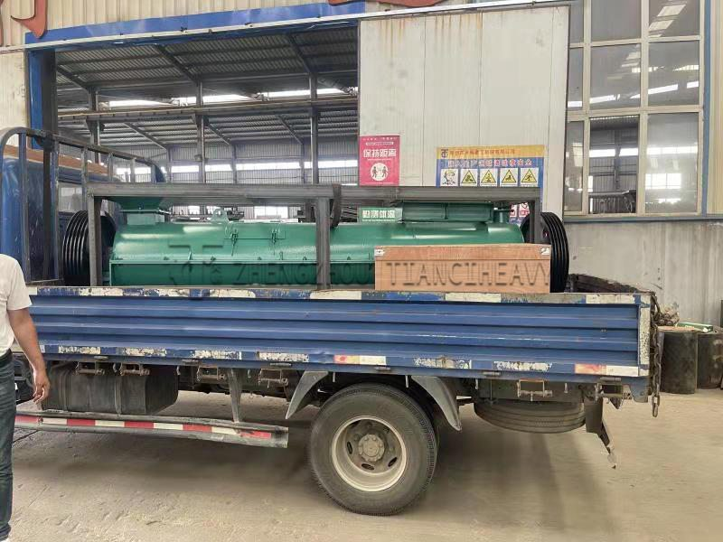 China Organic fertilizer granulator (2)