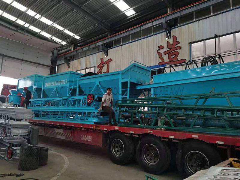 Organic fertilizer production line sold to Brazil (1)