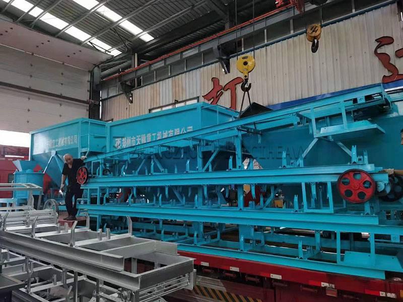 Organic fertilizer production line sold to Brazil (2)