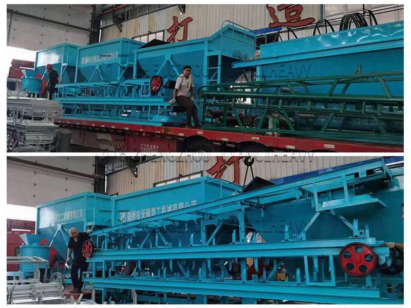 Organic fertilizer production line sold to Brazil (3)